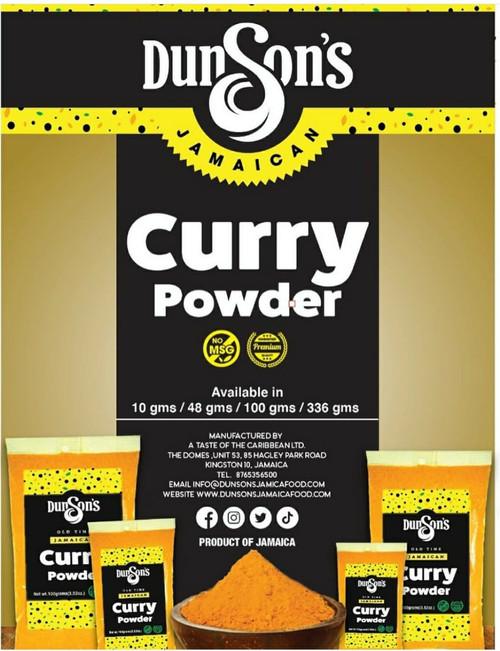 Dunson's OldTime Jamaican Curry Powder (16oz)