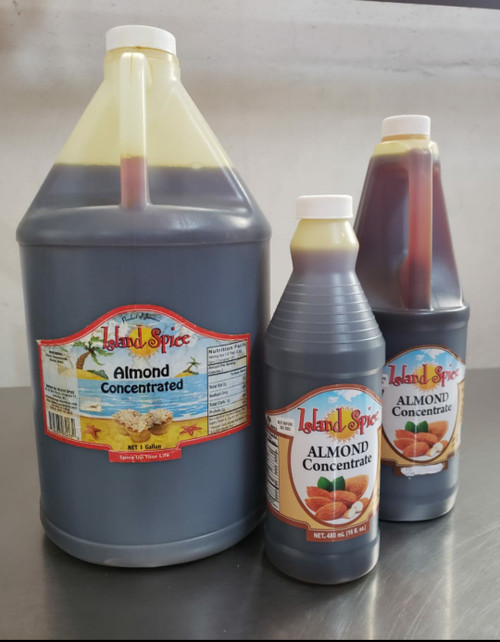 Island Spice Almond Concentrate