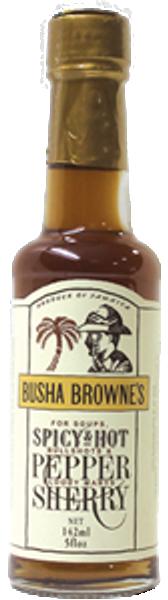 Busha Browne's Hot Pepper Sherry, 5.0oz