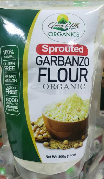 Green Hills Organics Sprouted Garbanzo Flour (Organic)-14oz