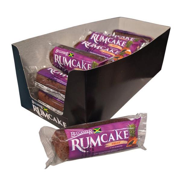 Buccaneer Pocket Size Rum Cake (10 Pack)- Fruit
