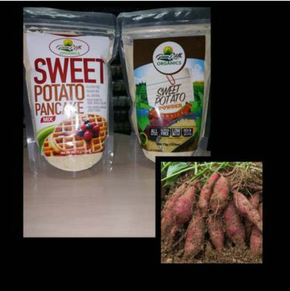 Green Hills Organics Jamaican Sweet Potato Pancake Mix (13.5oz)