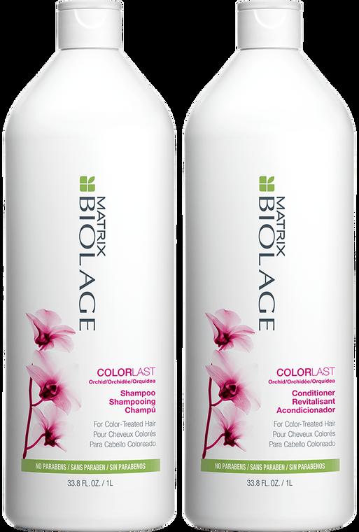 Matrix Biolage - Colorlast - Shampoo & Conditioner Duo (1000ml x 2)