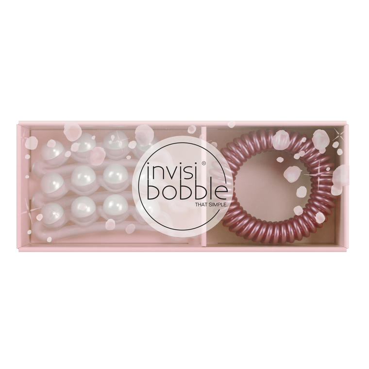 Invisibobble - Original/Waver - Sparks Flying You're Pearlfect Duo (6pc)