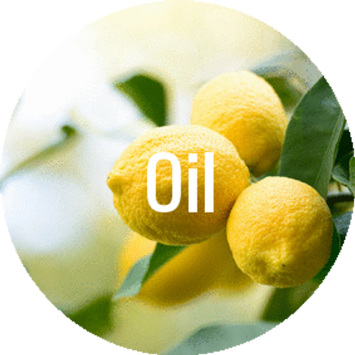 Fresh lemon zest, clean and invigorating.