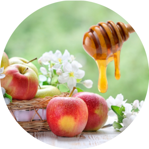Aroma of fresh apple & flower blosssoms with a light dollop[ of  golden honey.
