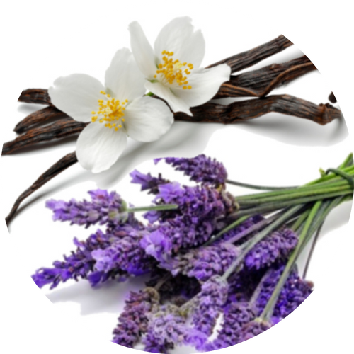 Relaxing blend of lavender and cramy vanilla bean.