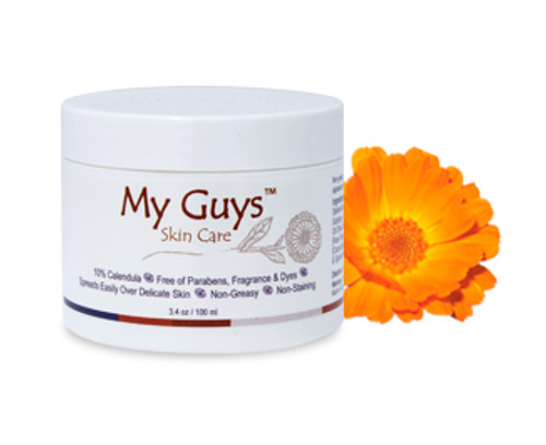 3.4 oz My Guys Skin Care Calendula cream for burns and dry skin