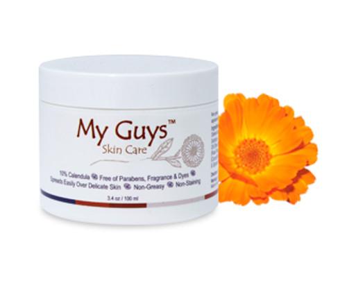 3.4 oz My Guys Skin Care Calendula cream for burns and dry skin