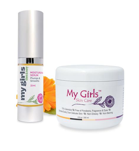Calendula skin care cream with brightenimg 24/7 redness relief moisturizing facial serum with kakado plum Vitamin C Extract