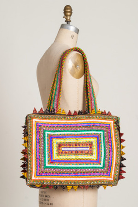 RAINBOW BAG: Large Tote