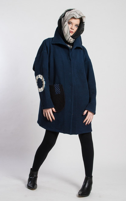 LOUISE JACKET: Florence Scarf (scarf sold seperately)