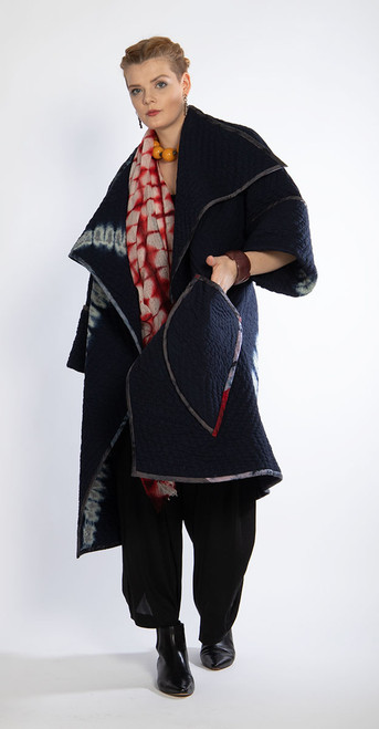Quilted Triple Arch Coat