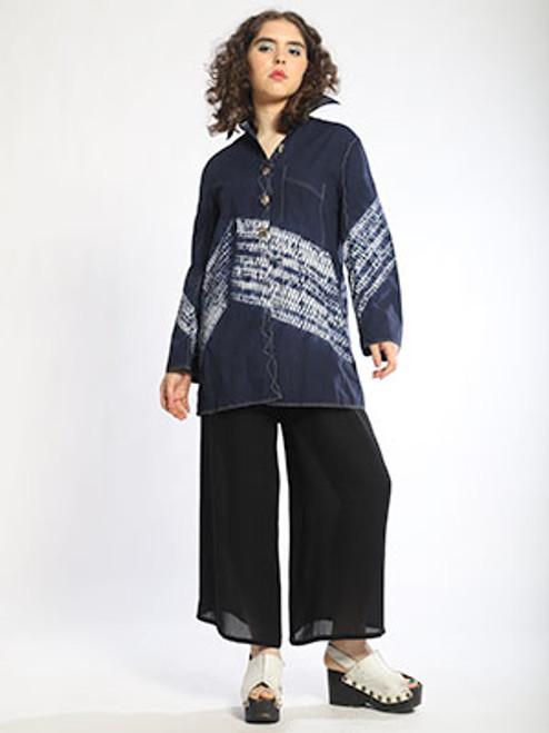 Zig-Zag Trapezoid Shirt