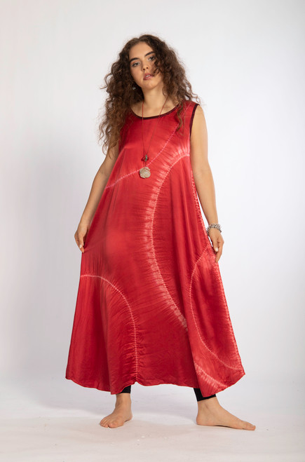 DOODLE DRESS: Silk Charmeuse - made to order