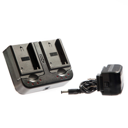 Dual NPF Series Battery Compatible Charger