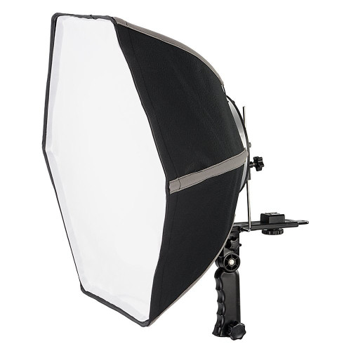 20 inch Quick Folding Hexagonal Softbox with Flash Bracket