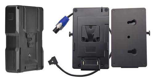 Rayzr 7 Fresnel LED Light Battery Kit