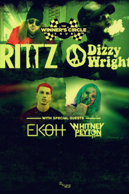 General Admission - Rittz - Dizzy Wright @ The WC Social Club - 2019-12-05