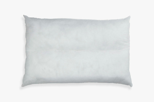 White headboard pillow insert