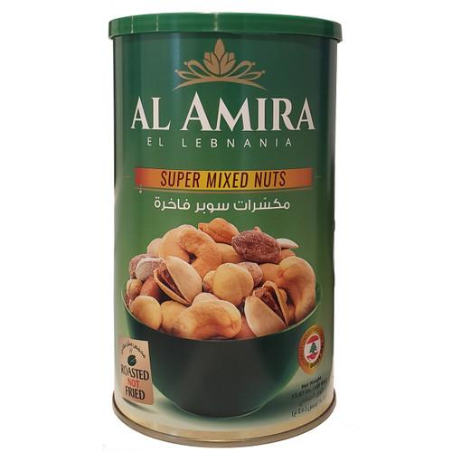 Al Amira Super Baked Mixed Nuts  15.87oz (450g)
