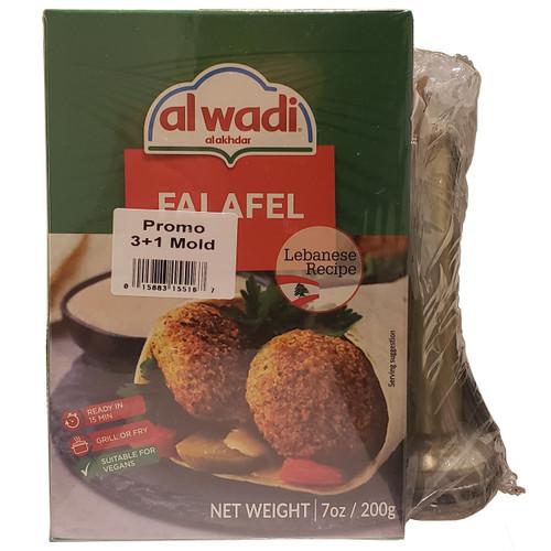 Al Wadi Falafel Mix w/Free Mold خلطة الفلافل مع قالب مجاني