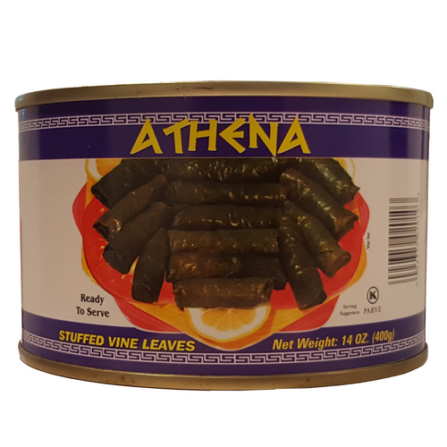 "Athena Stuffed Vine ""Grape"" Leaves 14oz 400g ورق عنب محشي"
