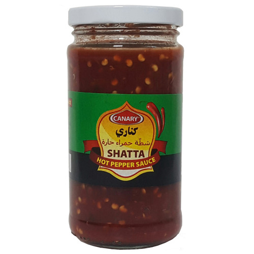 Canary Hot Pepper Sauce ( Shatta ), 12 oz