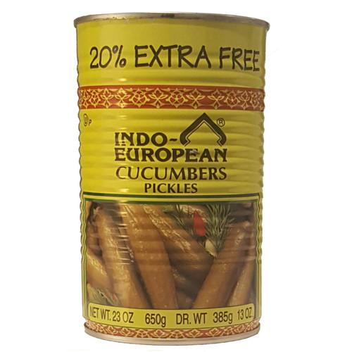 Indo-Euro Cucumber Pickles In Brine 20% 23 oz