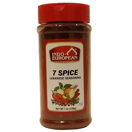 Indo-Euro Seven Spices 7 0z
