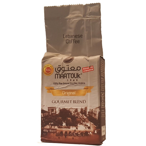 Maatouk Coffee Original 100% Fine Ground 1 lb