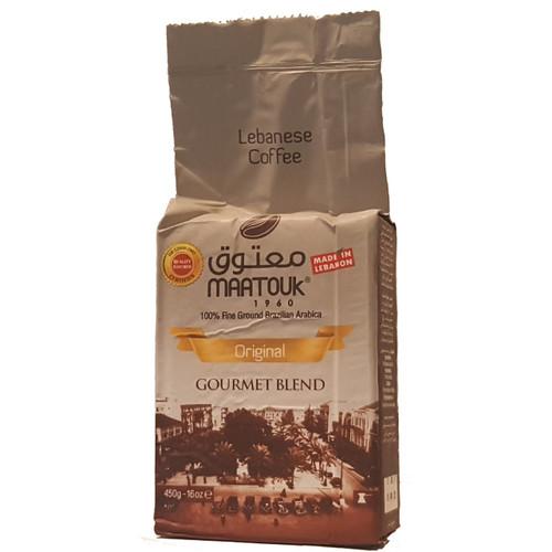 Maatouk Coffee Original 100% Fine Ground 1 lb