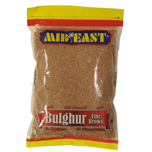 Mid East Brown Bulgur Fine 24 oz