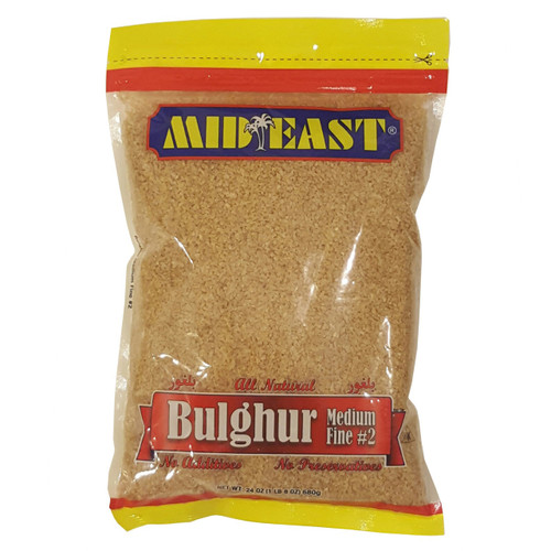 Mid East Bulgur #2 24 oz
