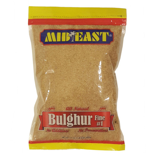 Mid East Bulgur Fine #1 24 oz