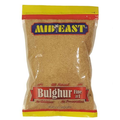 Mid East Bulgur Fine #1 24 oz
