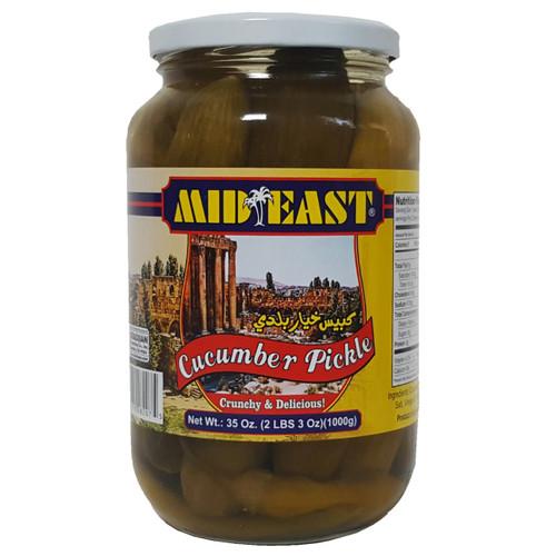 Mid East Cucumbers Pickle 32 oz