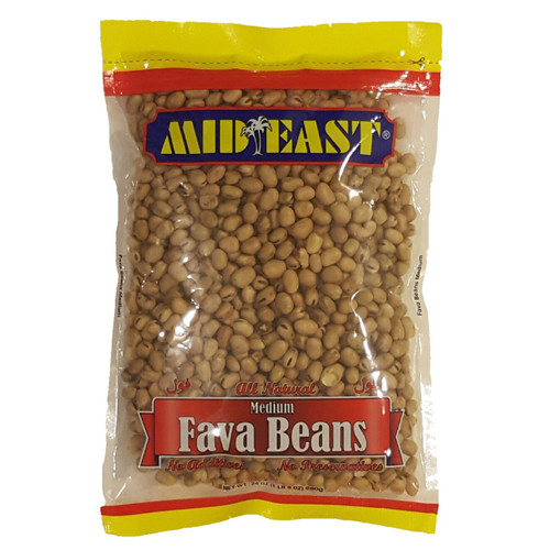 Mid East Fava Beans Medium 24 oz