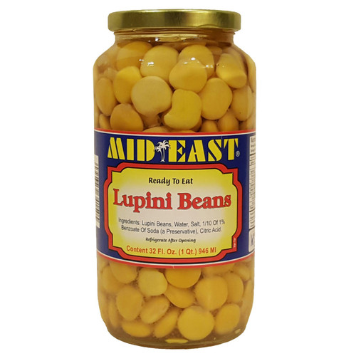 Mid East LupiniBeans 32 oz