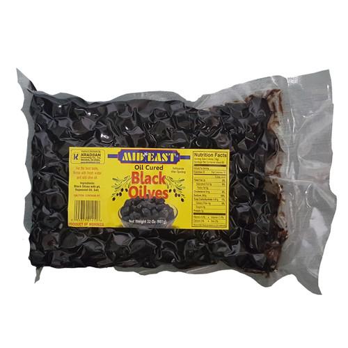 Mid East Oil Cured Black Olives 2lb