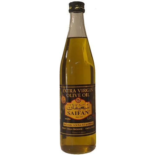 Saifan Extra Virgin Olive Oil 16.56 fl. oz. (490ml)