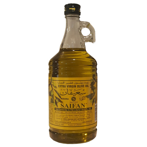 Saifan Extra Virgin Olive Oil 25.5 fl.oz. (0.750 L)