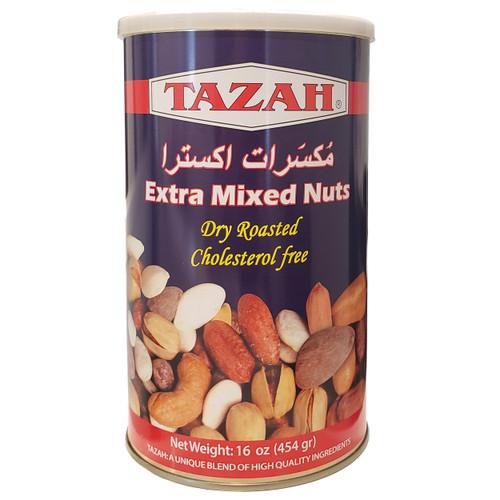 Tazah Extra Mixed Nuts 16 oz.
