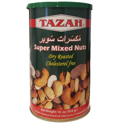 Tazah Super Mixed Nuts 16 oz