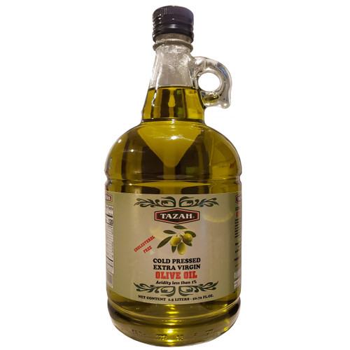 Tazah Extra Virgin Olive Oil 1.5 Liters