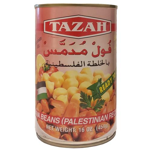 Tazah Fava Beans ( Palestinian Recipe), 16 oz