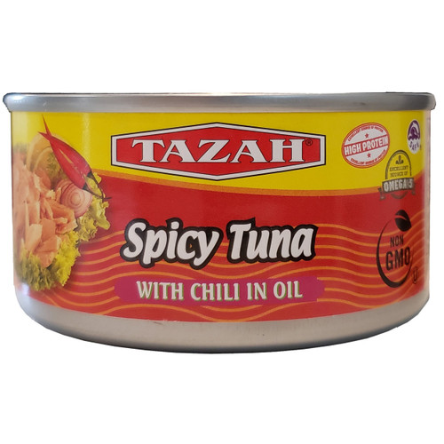 Tazah Spicy Tuna With Chili In Oil 6 oz