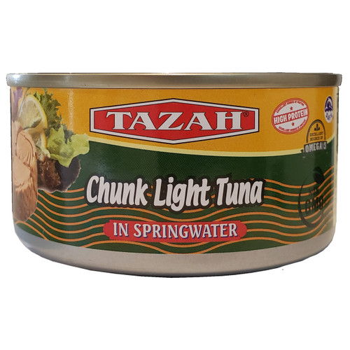 Tazah Chunk Light Tuna In Springwater 6.5 oz