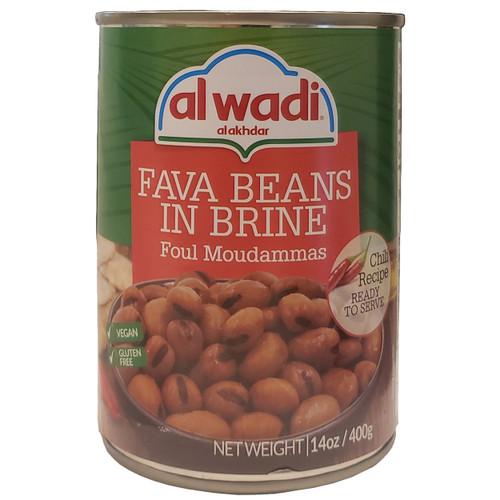 Al Wadi Fava Beans In Brine ( Foul Moudammas ) Chili Recipe 14oz