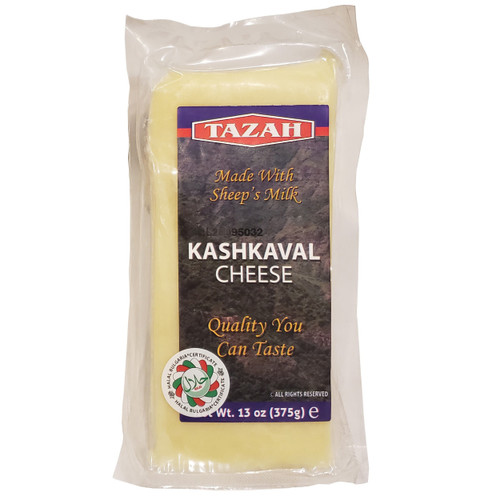 Tazah Sheep's Milk Kashkaval Cheese 13oz